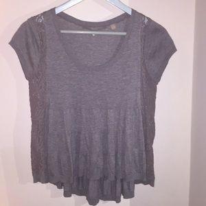 Anthropologie Short Sleeve Sweater